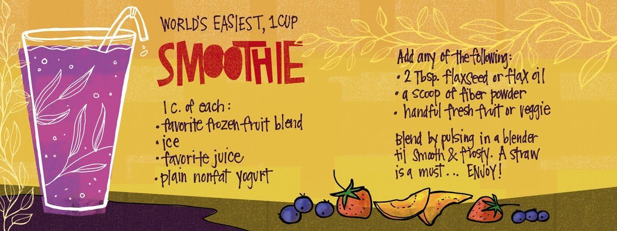 Worlds easiest smoothie by kristi smith