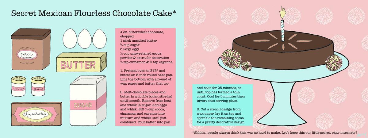 Secret mexican flourless chocolate cake by amy ventura