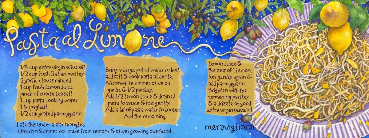 Pasta al limone by wendy edelson