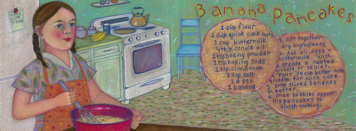 Banana pancakes by vicki smith