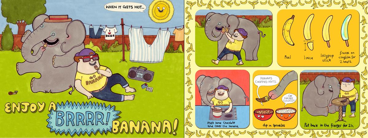 Nate banana