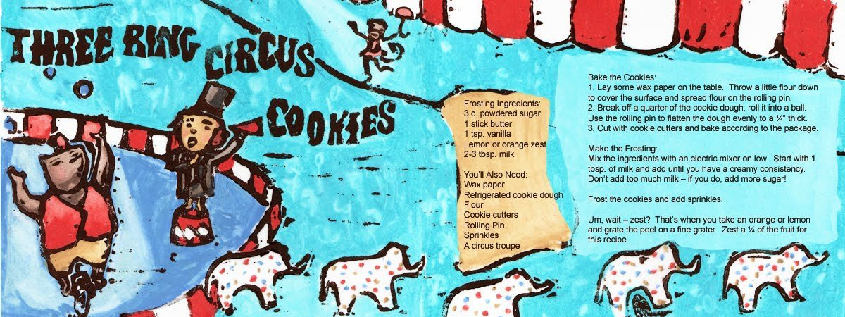 Three ring circus cookies by heather powers