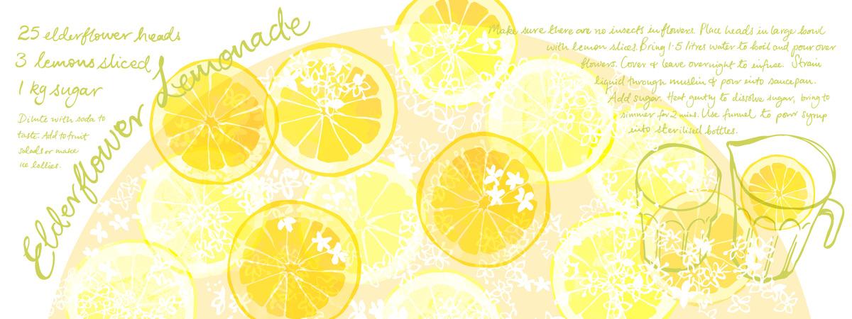 Elderflower lemonade omw