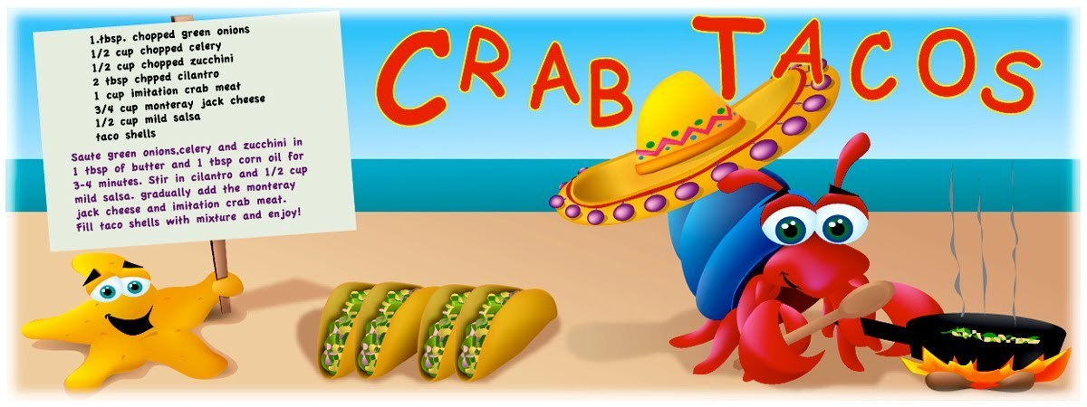Crab tacos by jack foster