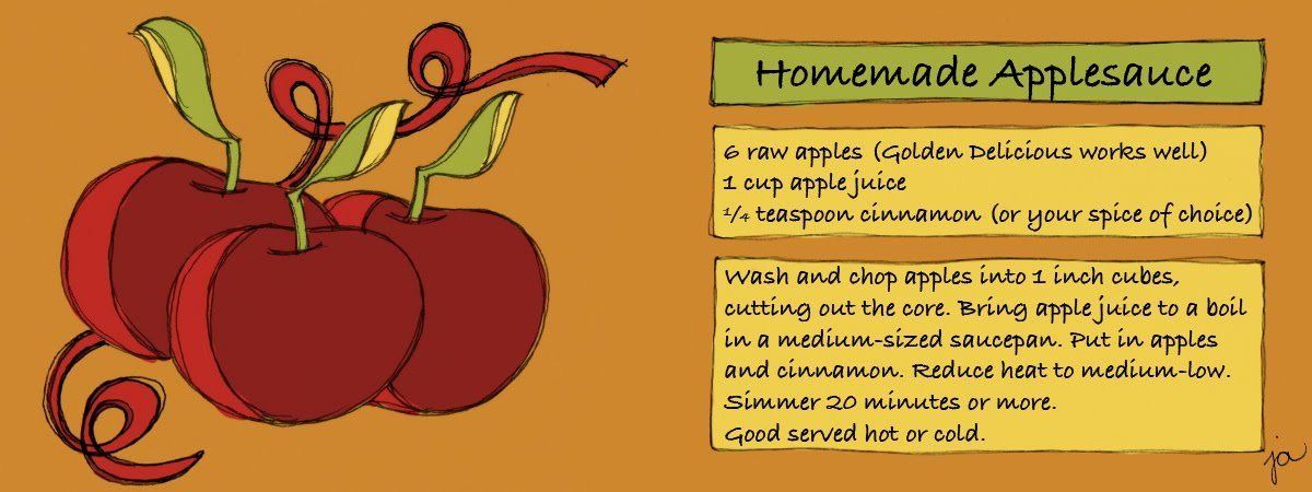 Applesauce By Jennifer Appel They Draw Cook