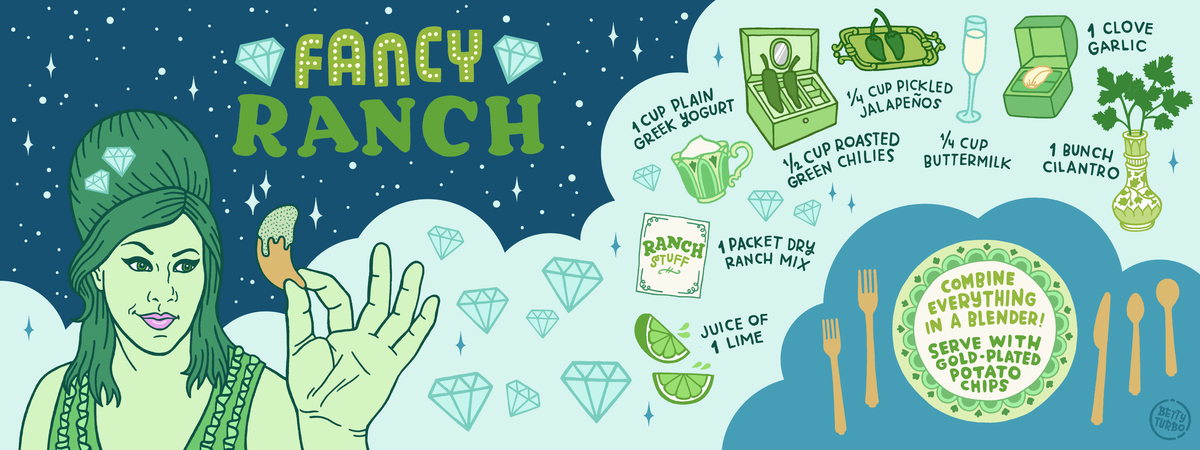 Fancy ranch copy