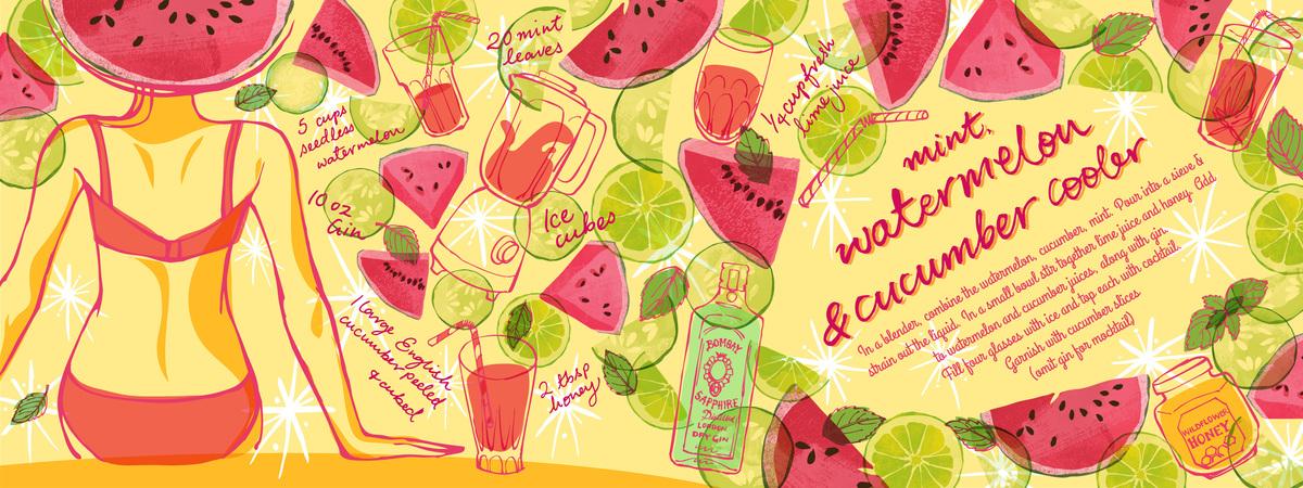 Watermelon layout