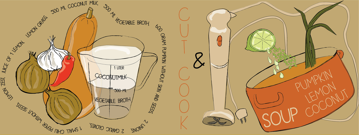 Recept pompoen soep