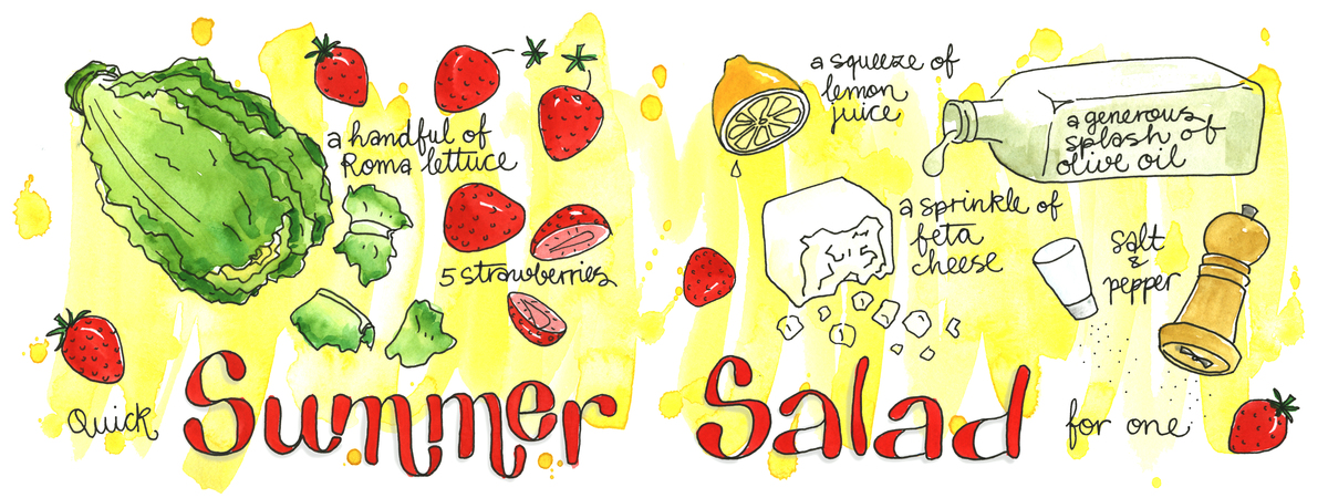 20150703 summersalad