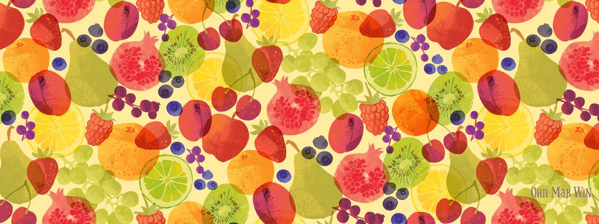 Ohnmarwin fruit pattern