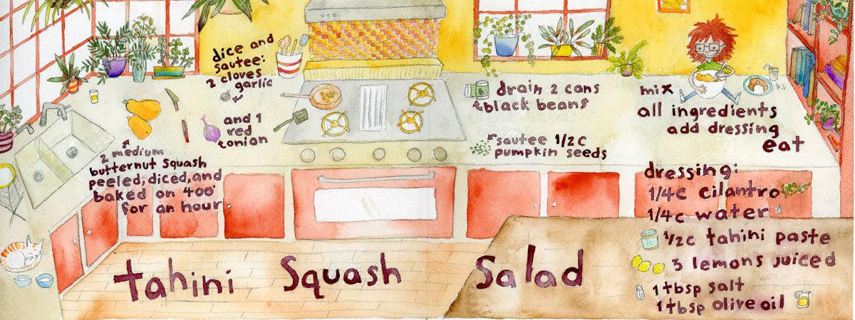 Charrow squash blog