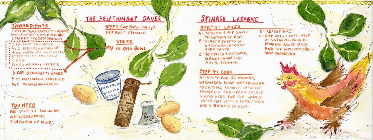 Hill lasagne blog