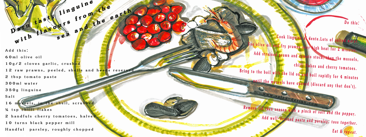 Cookanddraw salex design