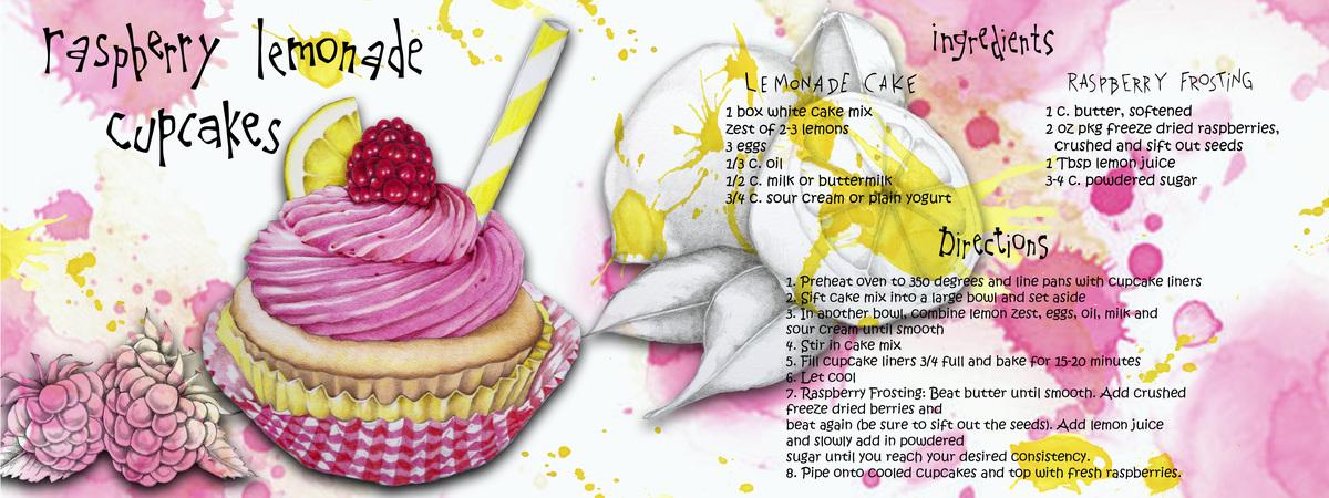 Raspberry cupcake for tdac