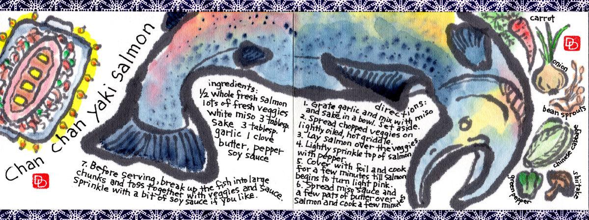 Davidson salmon blog