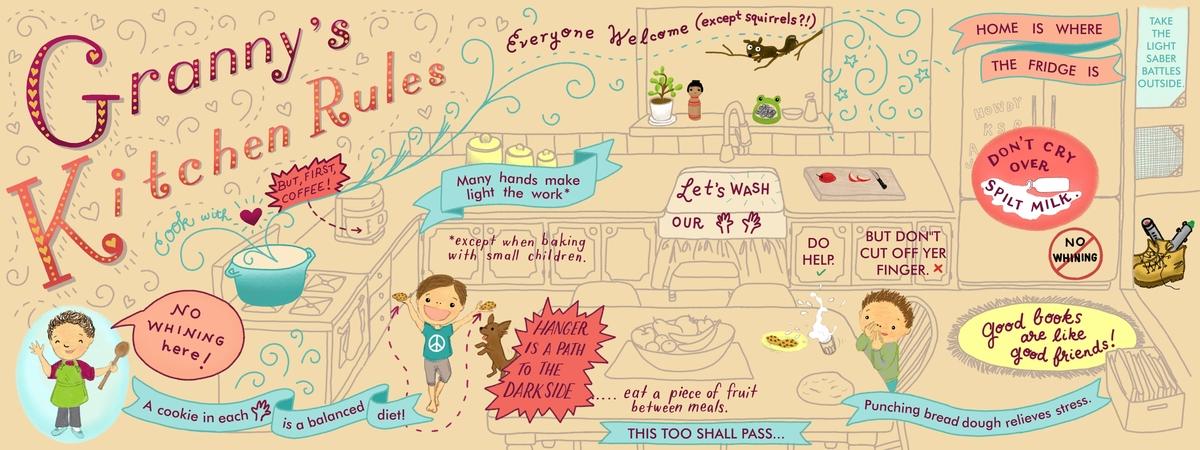 grannys kitchen rules by lena umezawa - Grannys Kitchen