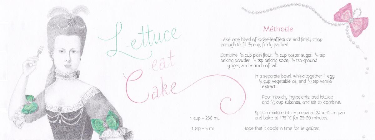 Lettuce eat cake