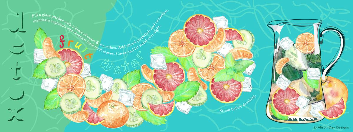 Fruitwaterdetox byalisonday