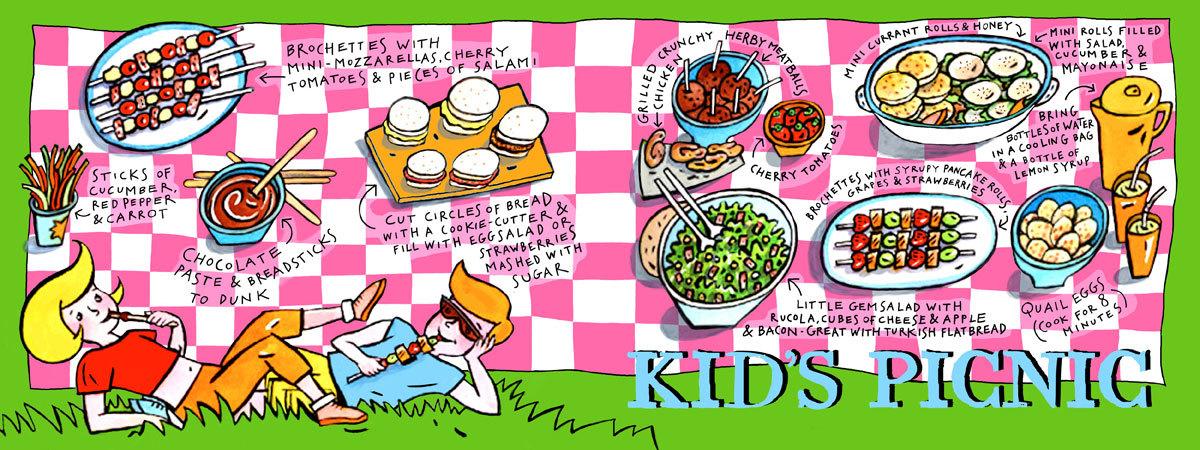 Cameron picnic blog