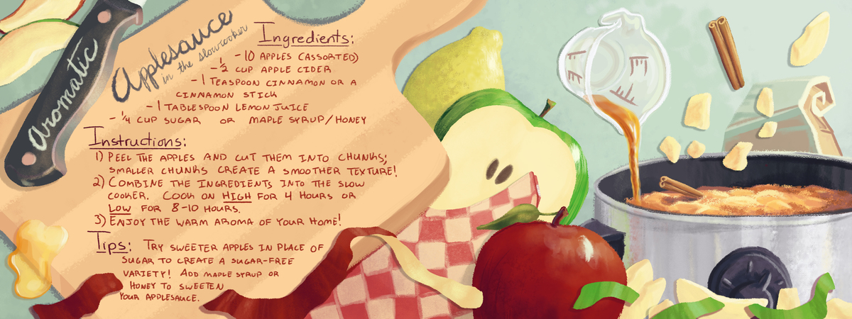 Aromatic Applesauce By Erica Eppert They Draw Cook
