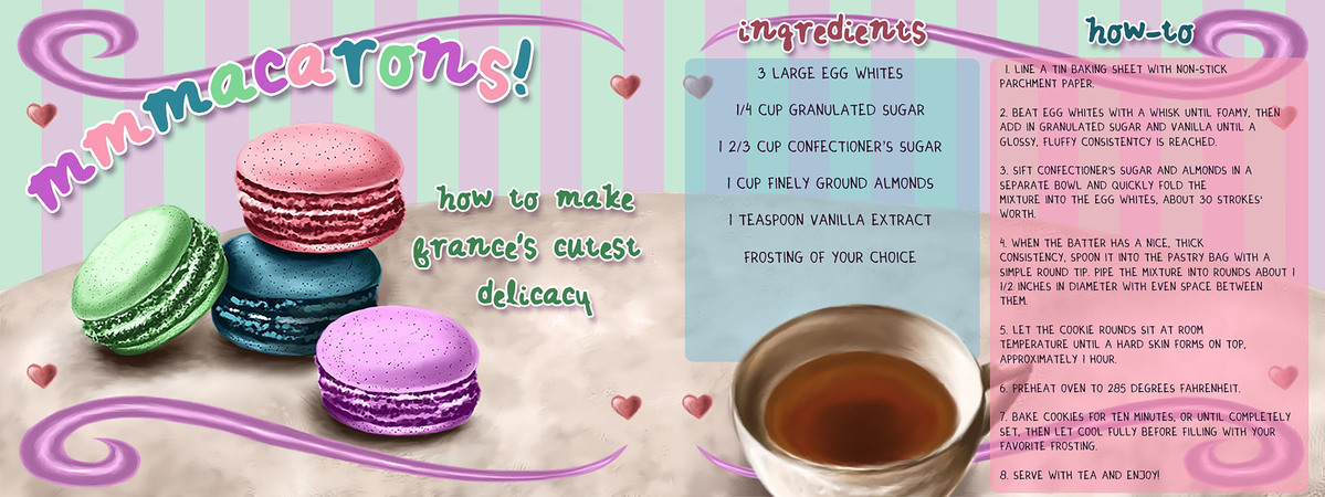 Luterio macaron recipe