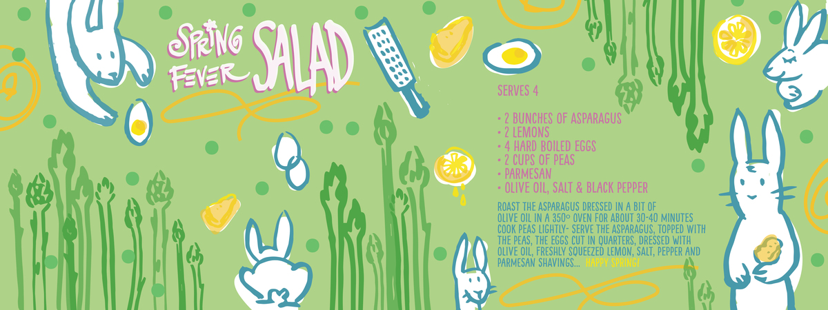 Spring fever salad