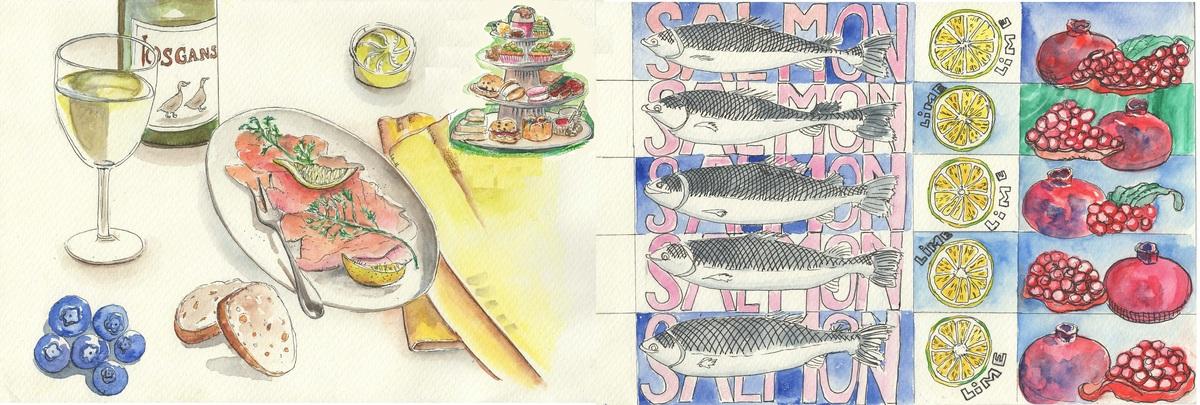 Salmonappetizer