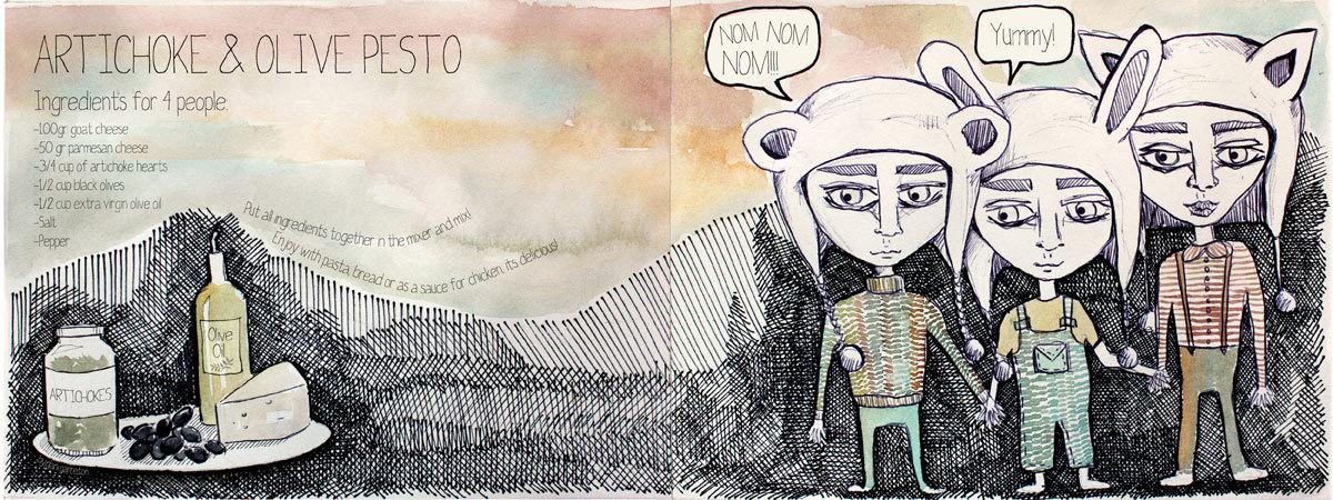 Garreton pesto blog