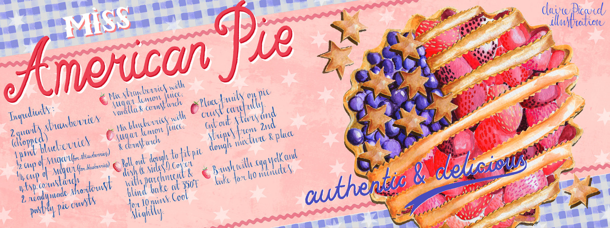 Clairepicard tdac american pie recipe