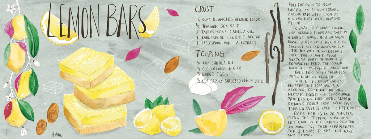 Adriennevita lemonbar recipe