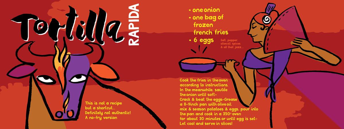 Tortilla rapida