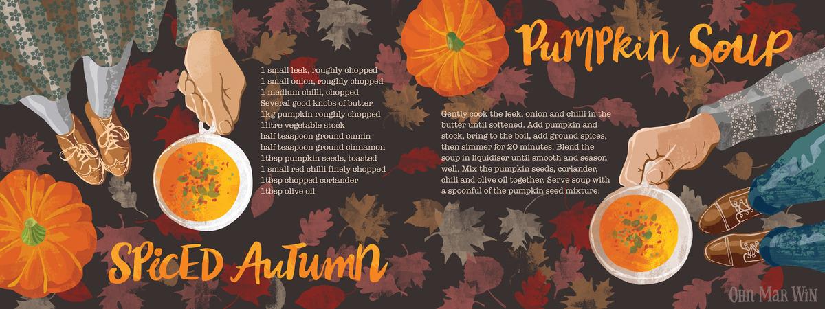 Pumpkin soup layout 01