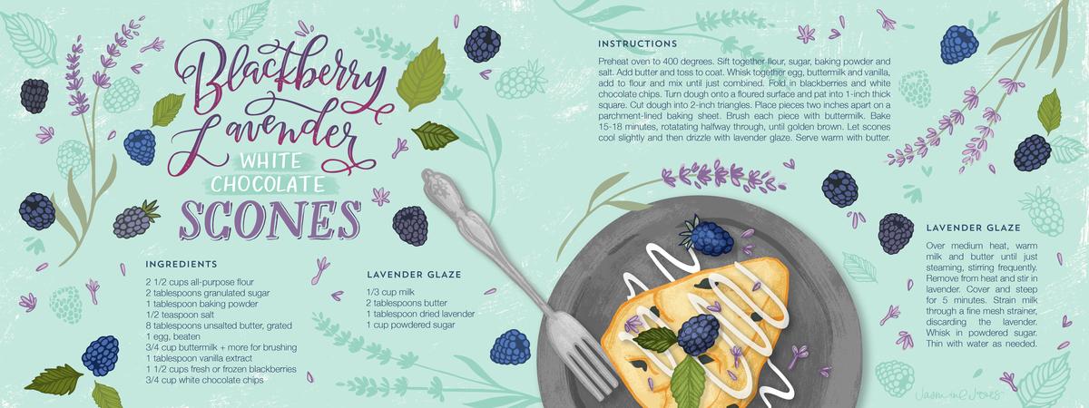 Tdac blackberry lavender scones 04