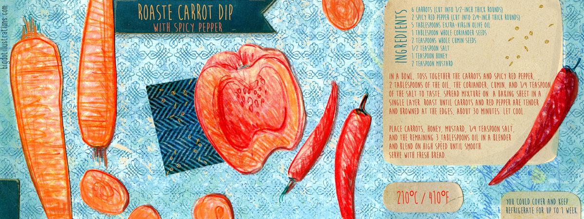 Bigdotillustrations spice carrot