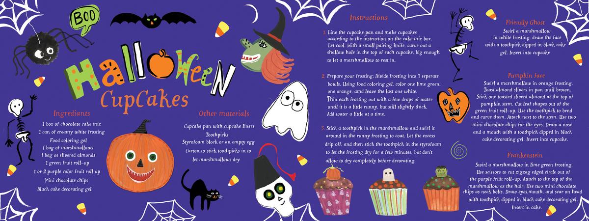 Halloween cupcake
