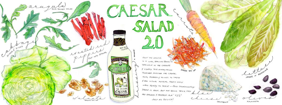 Caesar salad 2.0