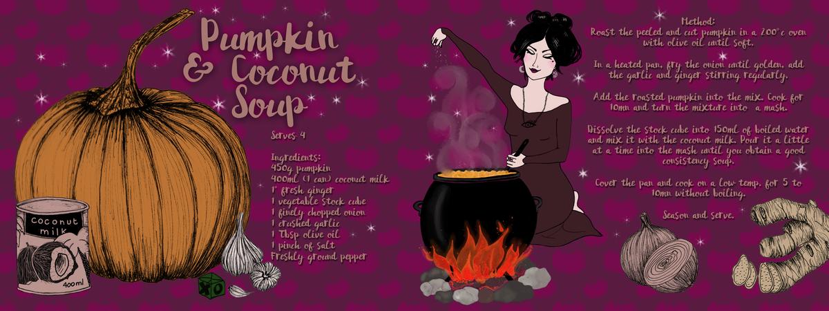 Bettygrove pumpkincoconut recipe