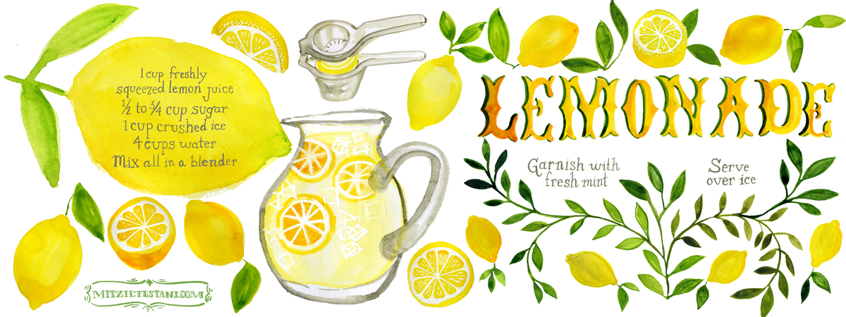 Lemonaderecipe mitzietestani