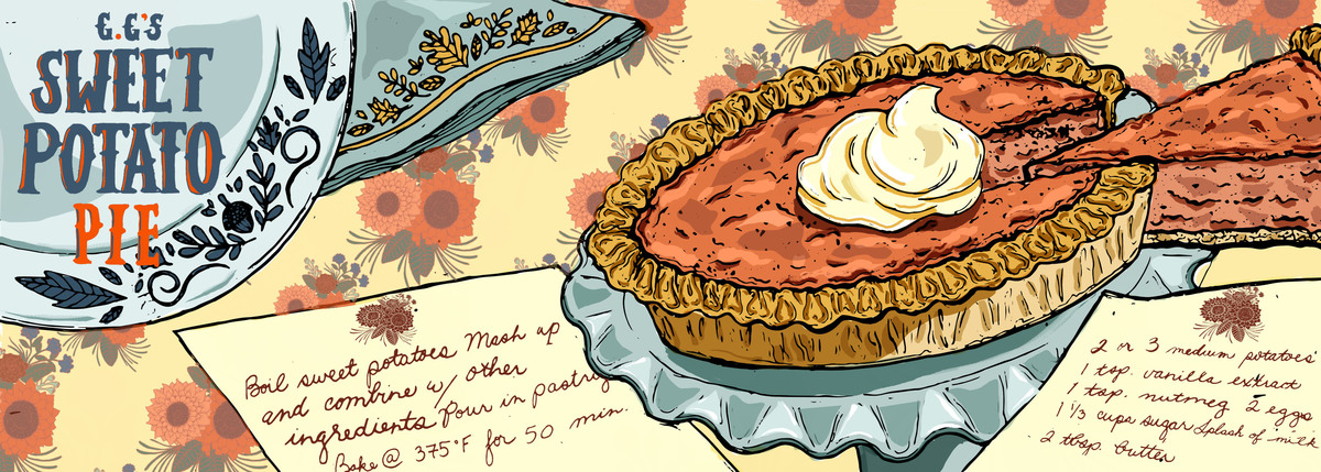 Pie illustration 2