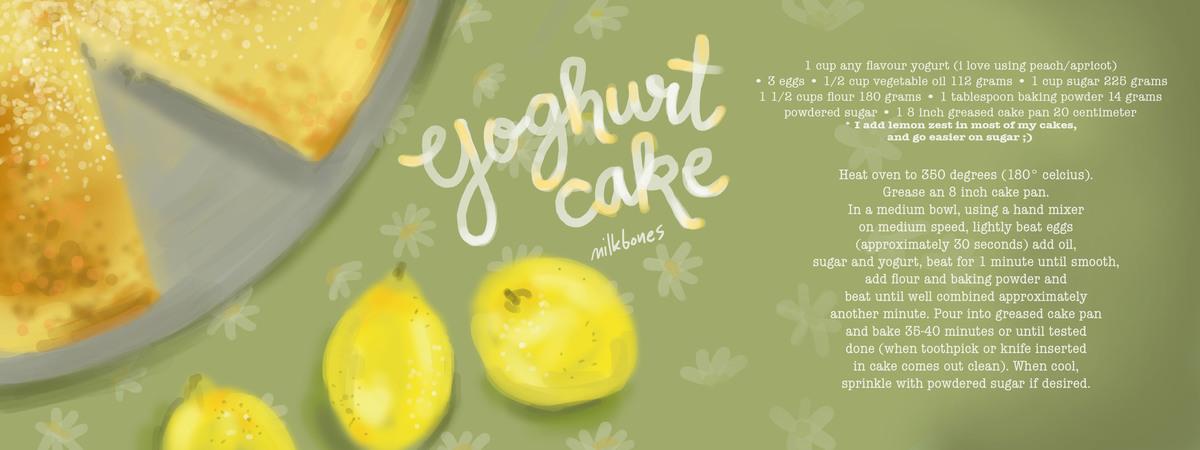 Yoghurt cake