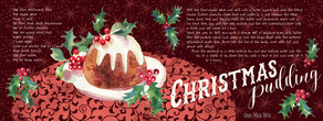 Christmas pudding layout 01