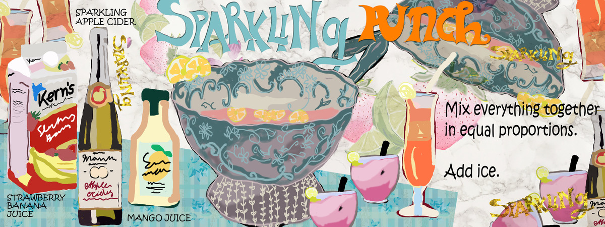 Sparkling  punch 1