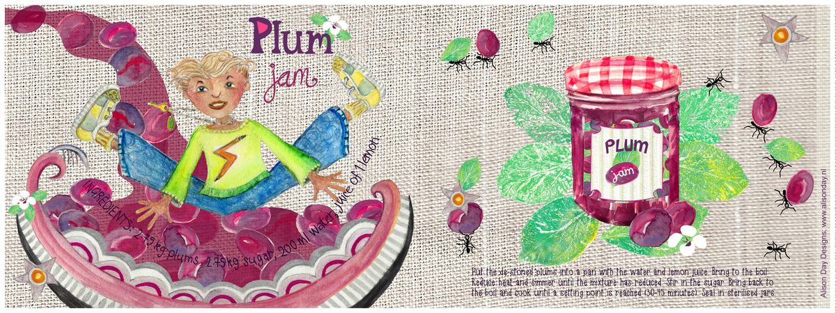 Plum jam byalisonday