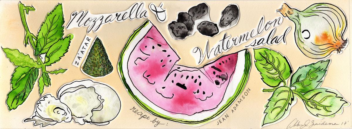 Tdac watermelon mozz salad