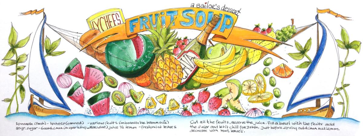 Theydrawandcook layout dessert a sailors fruit soup angeleernst