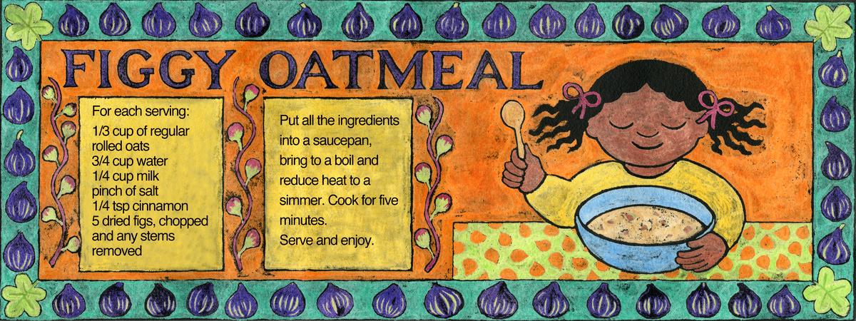 Figgy oatmeal