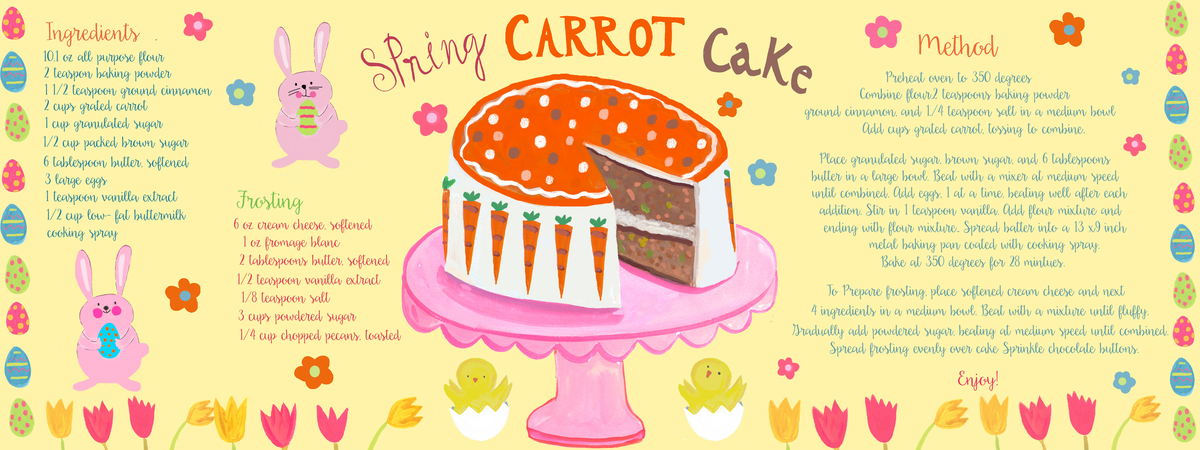 Spring carrot cake22