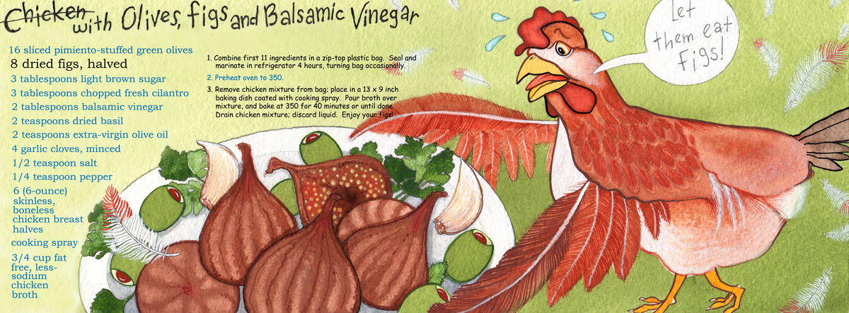 Chicken and figstdac