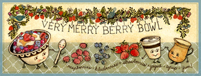 Very merry berry bowl