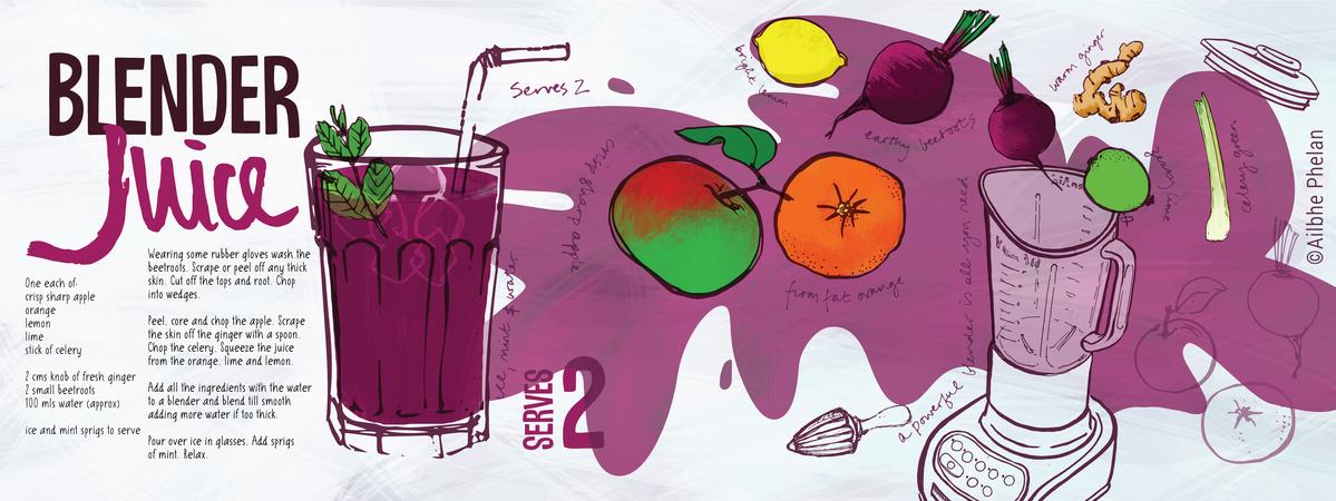 Tdac blender juice